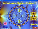 Maths Lesson Starters maths software