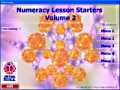Numeracy Lesson Starters 2 maths software