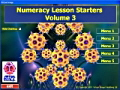 Numeracy Lesson Starters 3 maths software