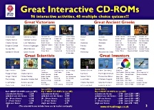 Great Victorians and Great Ancient Greeks software